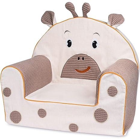 Bubaba Silla para bebé en 16 motivos, goma espuma rígida - extra-ligero, apenas 1kg - Producto de la UE, Model:Giraffe