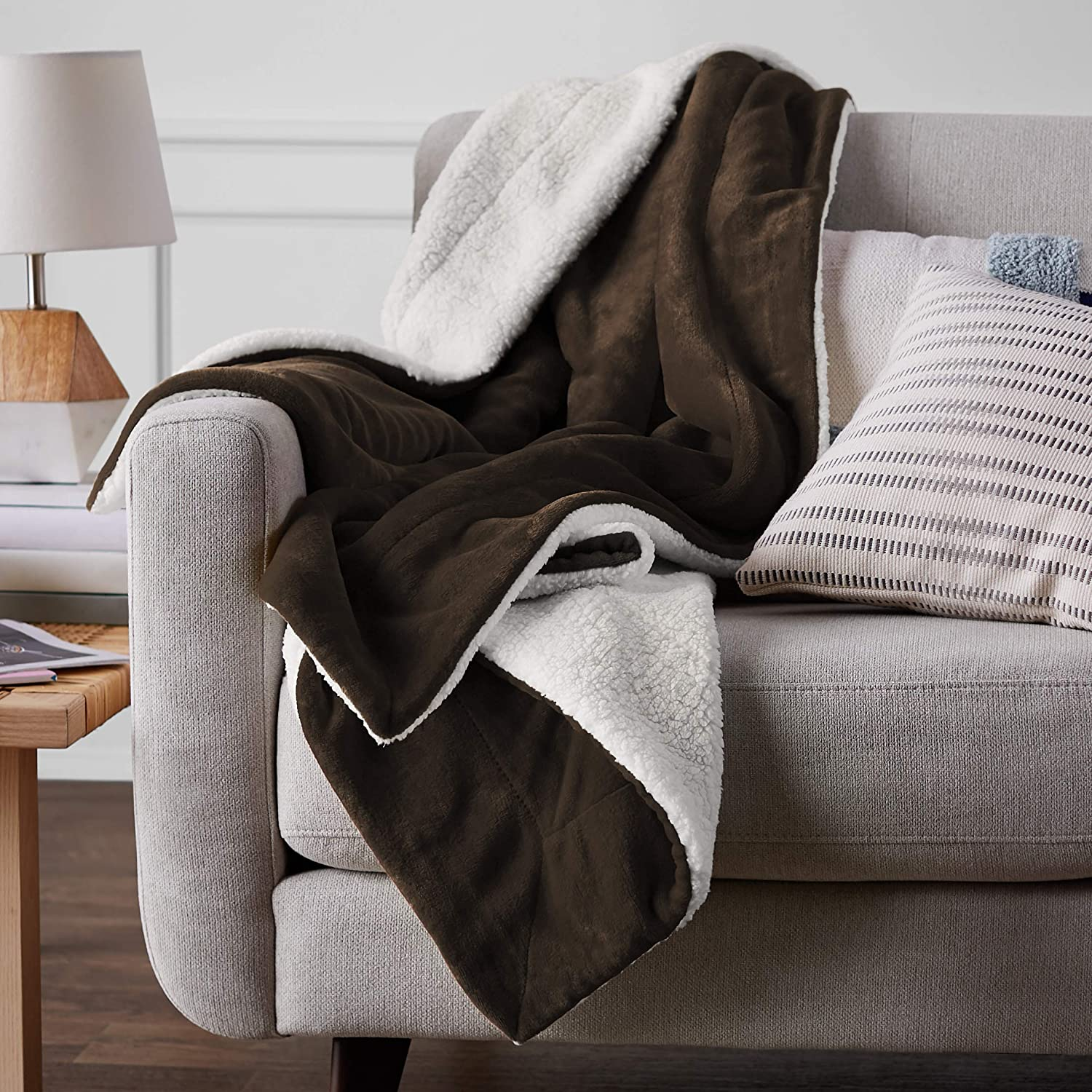 Micromink Sherpa Blanket ONLY.