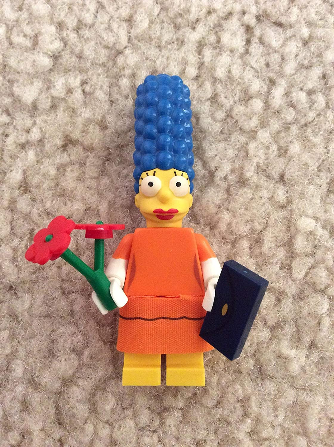 LEGO MINIFIGURES SERIES 1 THE SIMPSONS X 1 HEAD FOR MAGGIE SIMPSON PARTS