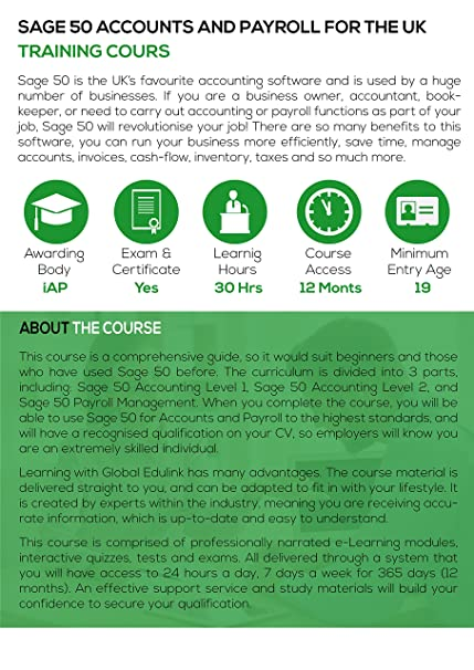 Sage 50 Accounts and Payroll for the UK - Training Course [Online ...