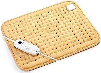 Almohadillas eléctricas térmicas Rango de temperatura 36-75 ℃ Almohadilla térmica para calentar el cuerpo y para calmar los hombros del cuello Dolor de ...