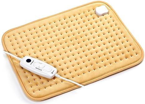 Almohadillas eléctricas térmicas Rango de temperatura 36-75 ℃ Almohadilla térmica para calentar el cuerpo