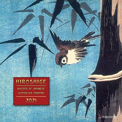 CALENDRIER 2021 HIROSHIGE   ART JAPONAIS   ARTISTE PEINTRE