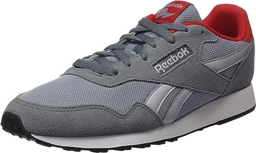 Reebok Herren Royal Ultra Sneaker, Black Ash Grey Flint Grey Vital Blue