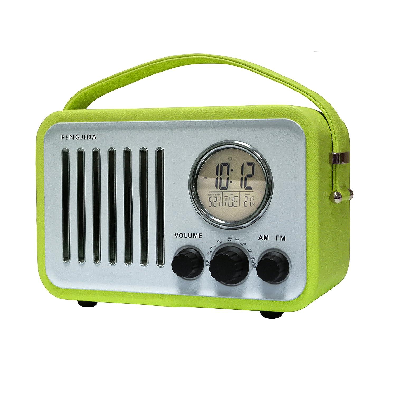 Radio FM Am, Radio de Mesa Retro en Madera, Radio, Radio ...