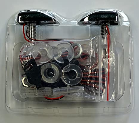 Boquilla atomizadora por limpiaparabrisas con luz rojo uno agujero boquilla