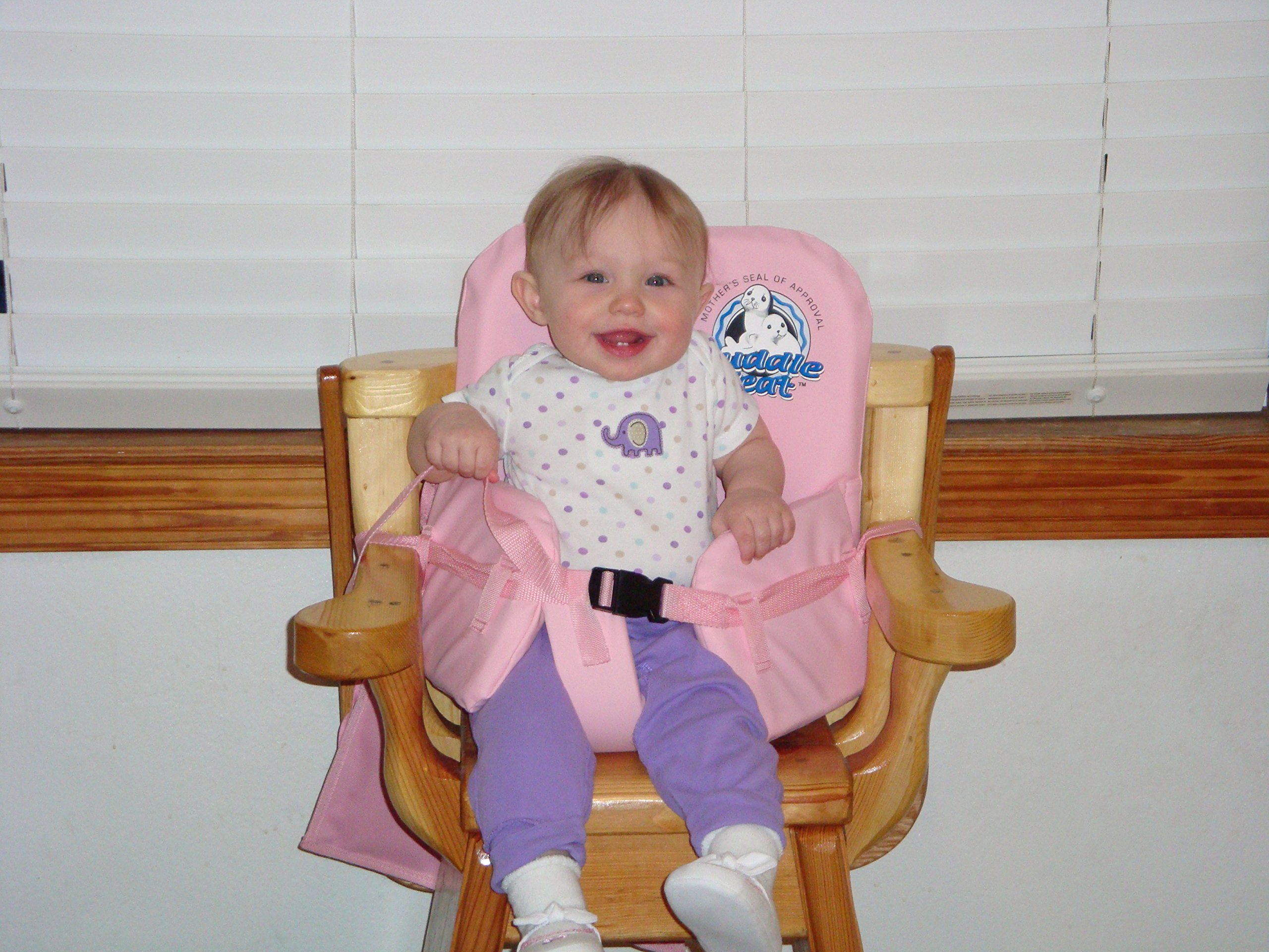 Cuddle Seat Infant and Toddler Highchair Safety Seat in Blue or Pink New Buy 1 Get 1 FREE