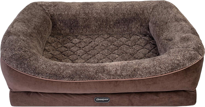 Beautyrest Ultra Plush Cuddler Dog Bed