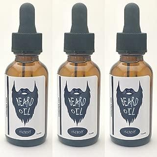 "product image for Green Tea Bergamot Beard Oil  ""Frenchy"" by Lick 'er Lips   Moisturizing Facial Hair Conditioner - 1 oz bottle"