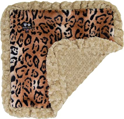 Puppy Super Soft Reversible Blanket Multiple Sizes Bessie and Barnie Camel Rose// Godiva Brown Luxury Ultra Plush Faux Fur Pet Cat Dog