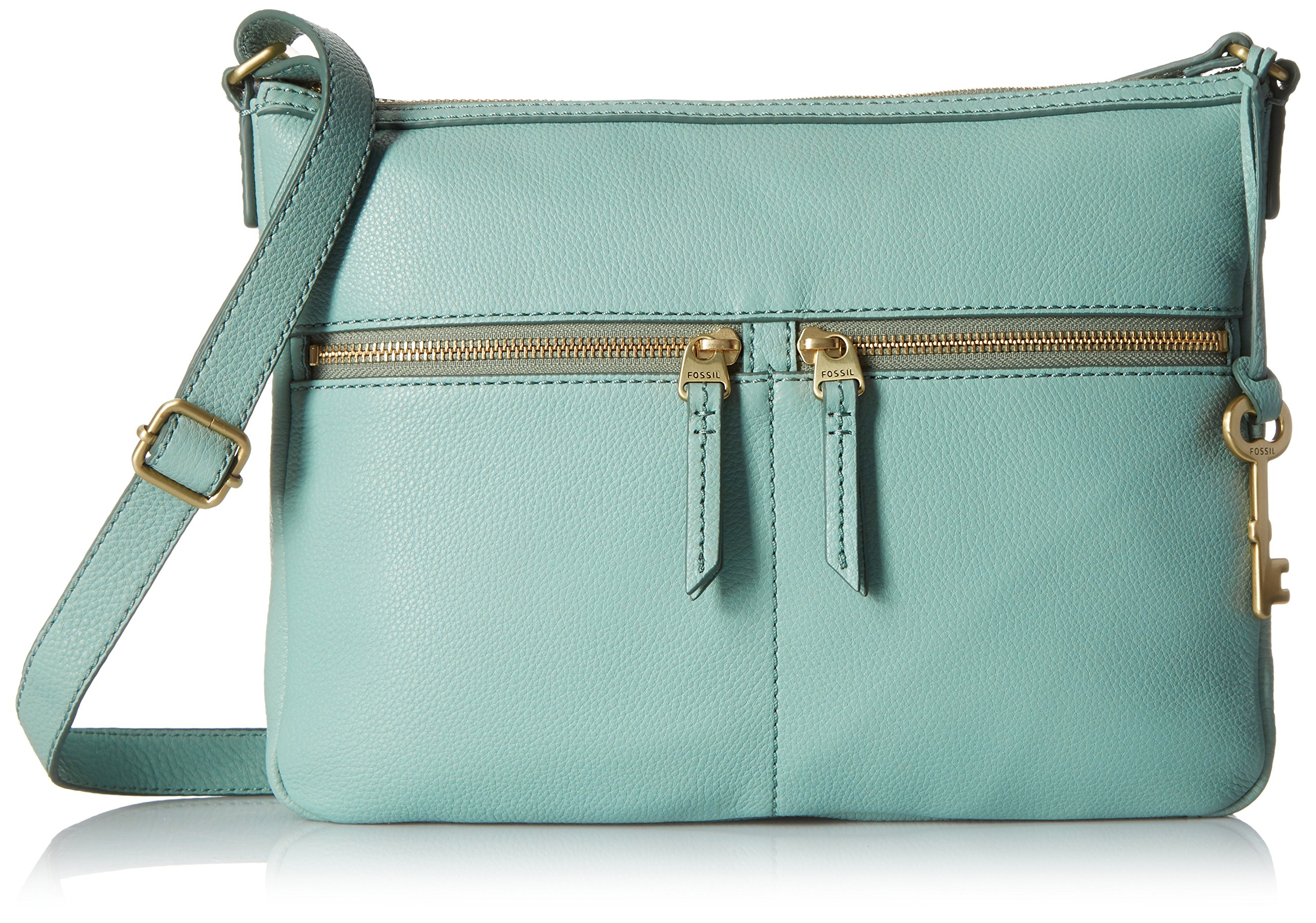 Fossil Erin Crossbody, Sea Glass, One Size by Fossil
