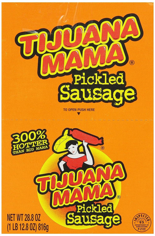 Big Mamas Kitchen Omaha Amazoncom Penrose Pickled Sausage Tijuana Mama 24 Ounce 12