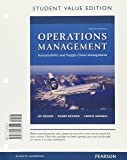 Operations Management: Sustainability and Supply Chain Management, Student Value Edition Plus MyLab Operations Management with Pearson eText -- Access Card Package (12th Edition)
