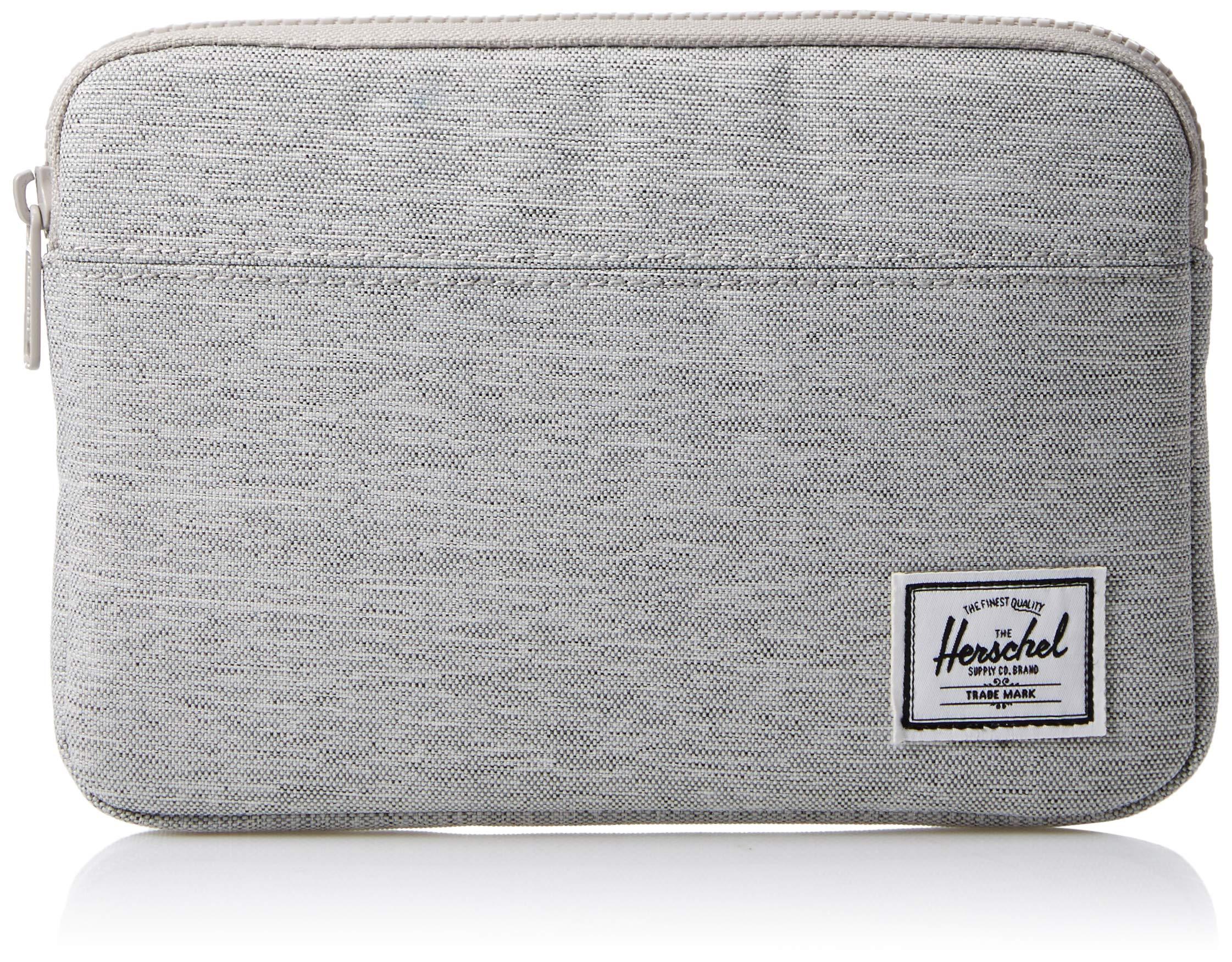 Herschel Supply Co. Men's Anchor Sleeve for iPad Mini, light grey crosshatch One Size