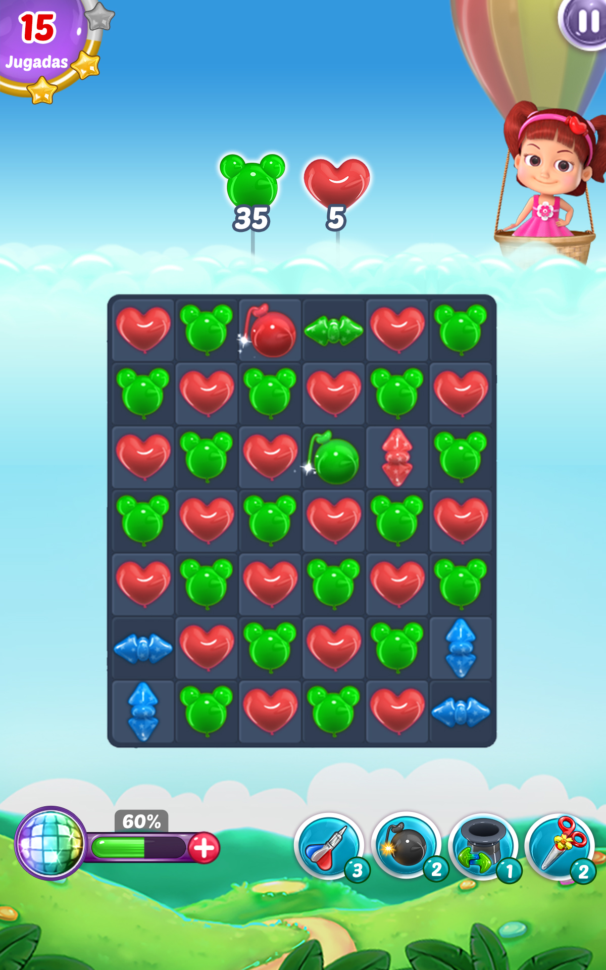 Balloon Paradise: Paraíso de globos - Nuevo y Divertido Juego de Combinar 3: Amazon.es: Appstore para Android