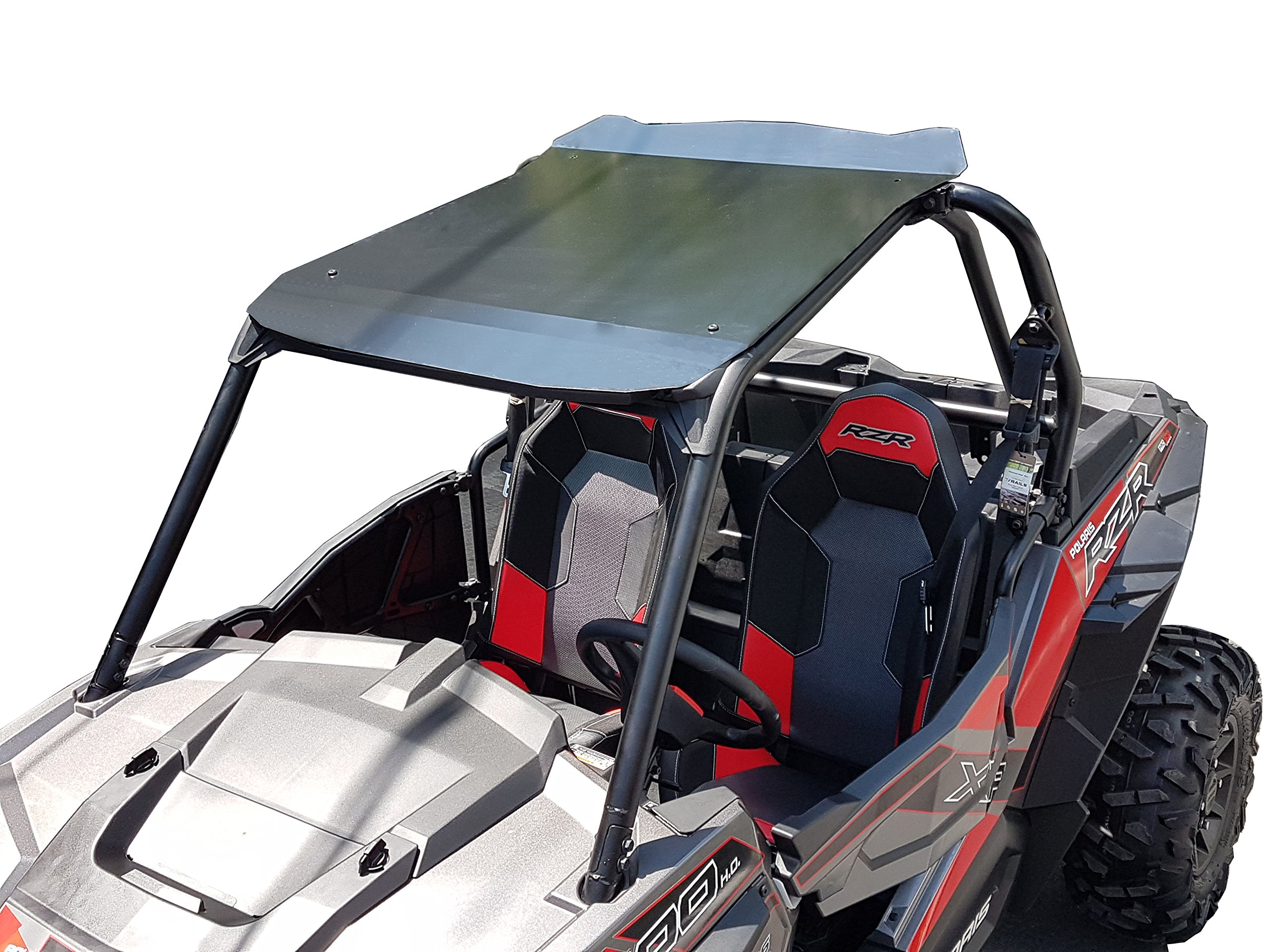 Polaris RZR XP 900/1000 Aluminum Roof 2 Seats Black