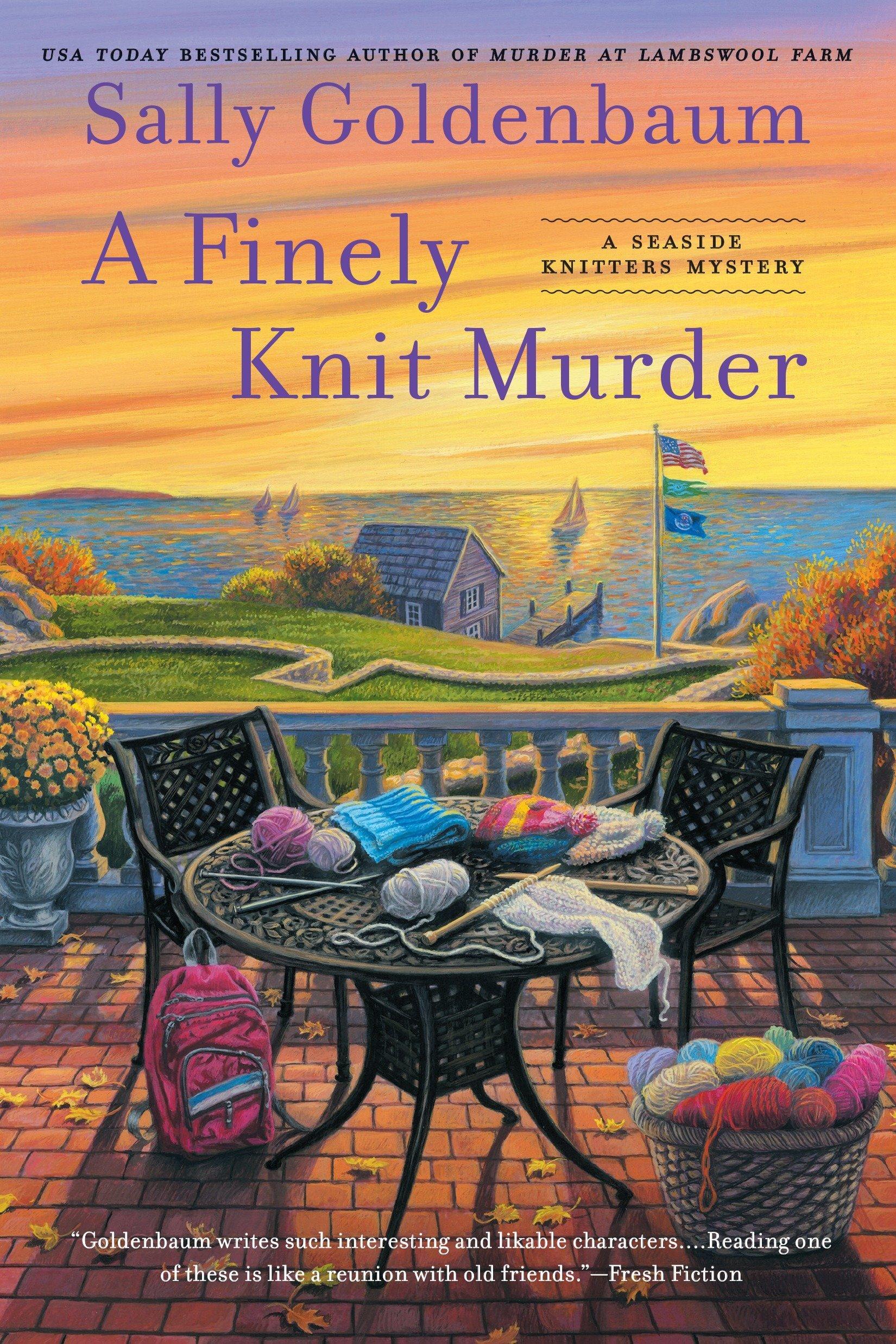 Amazon.com: A Finely Knit Murder (Seaside Knitters Mystery)  (9780451471611): Sally Goldenbaum: Books