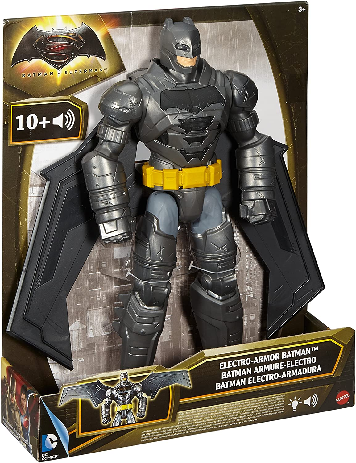 Batman Vs Superman Figura Batman Luces y Sonidos (Mattel DPB060 ...