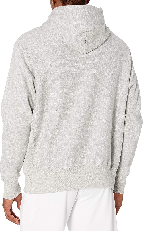 Champion Herren Reverse Weave Pullover Hoodie Kapuzenpulli Grau