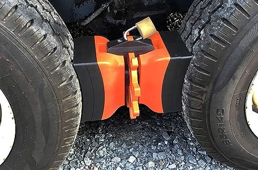Slip Stopper Samfox Wheel Chock Car Bloque antideslizante Neum/ático Slip Stopper Alineaci/ón de Ruedas Bloque de soporte del Neum/ático Pad 2Pcs