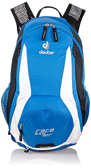 Deuter Race Reservoir EXP Air Backpack with 3L Reservoir - Ocean/White Casual Daypacks at amazon