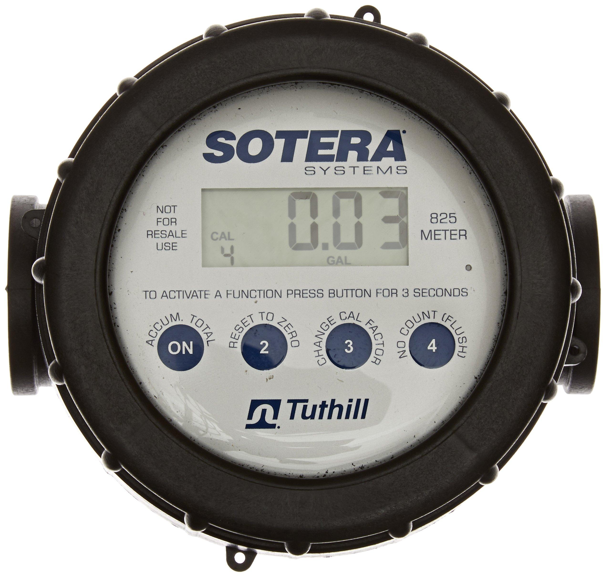 Fill-Rite 825X700 Digital Meter EPDM / 2 - 20 GPM