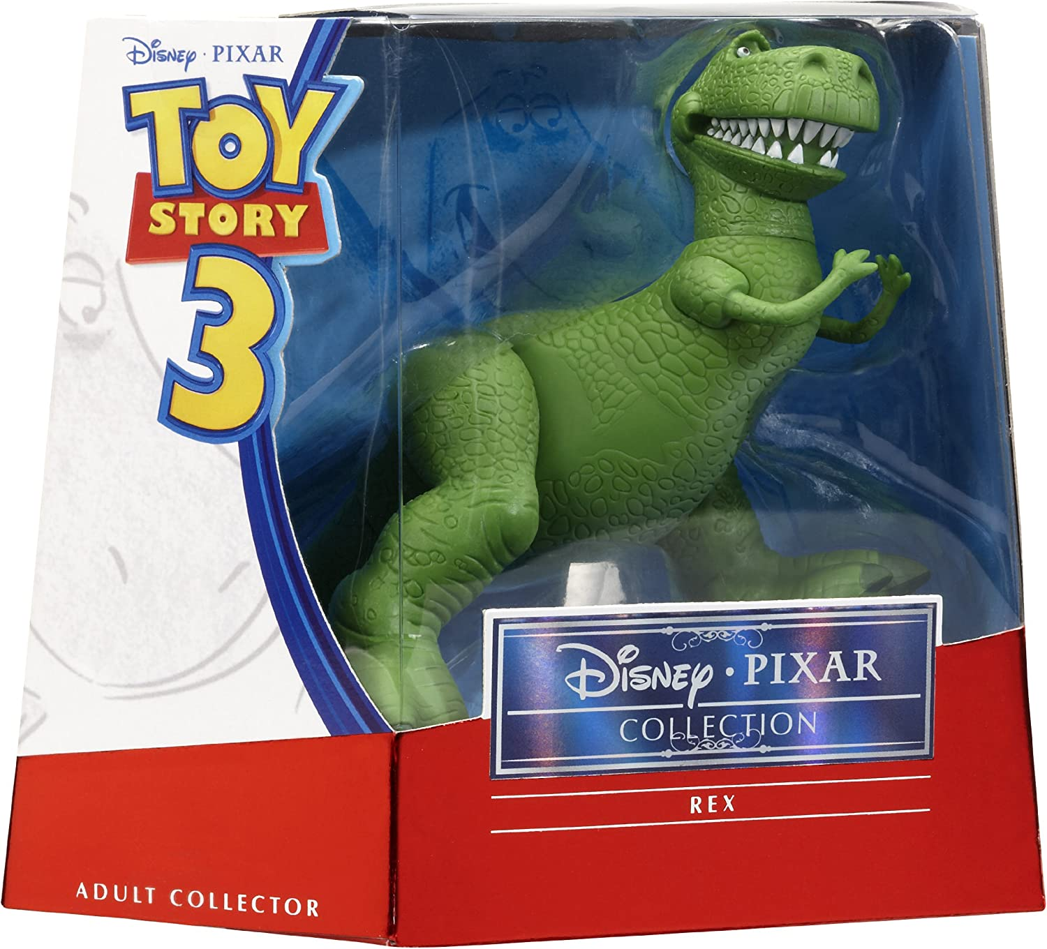 Toy Story 3 Deluxe Rex Collectible Figure Mattel T0497