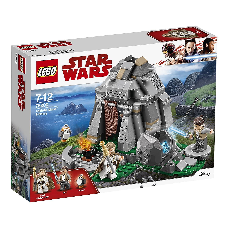 Lego Star Wars Jeu de Construction 75200 Entraînement sur lîle dAhch-to