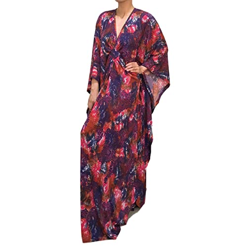 Amazon.com: Long plus size wedding guest dresses with sleeves for ...