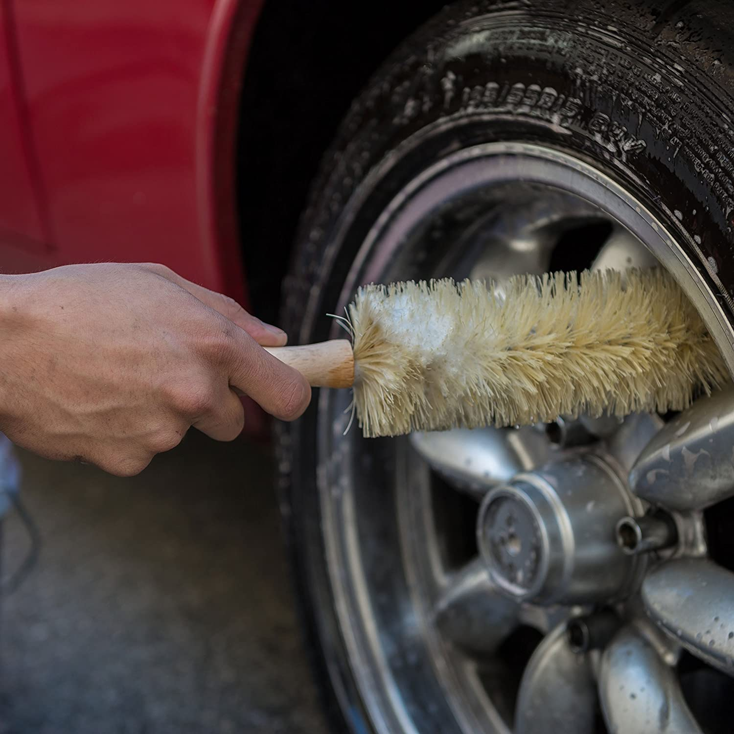 Chemical Guys ACC/_S31 1 Pack Ferret Wheel//Rim//Engine Brush