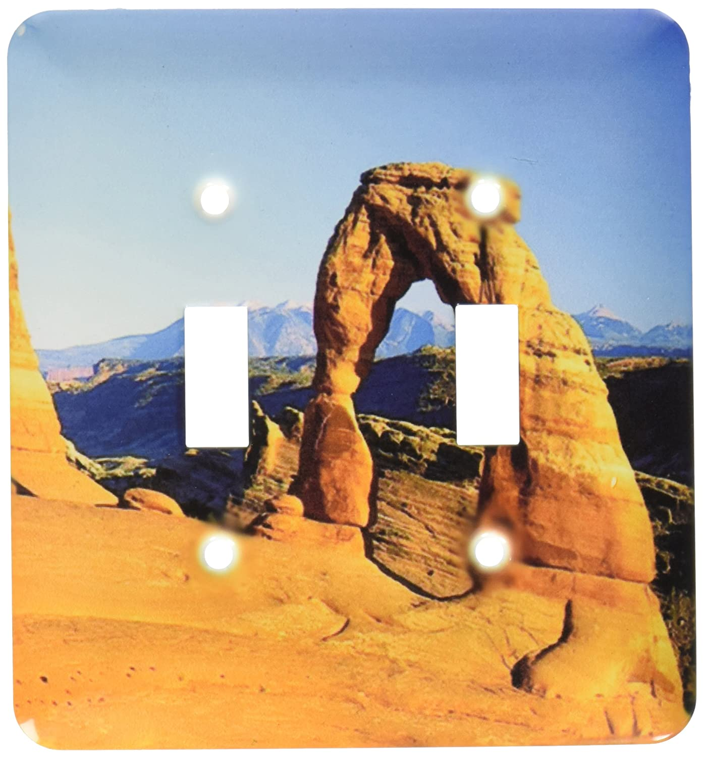 3dRose lsp/_55264/_2 Utah Arches National Park Double Toggle Switch