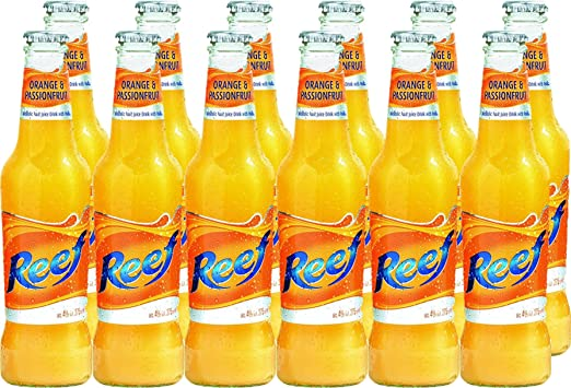 e1b366b1627900 Reef Hoopers Orange and Passion Fruit Ready to Drink 27.5 cl (Case of 12):  Amazon.co.uk: Grocery