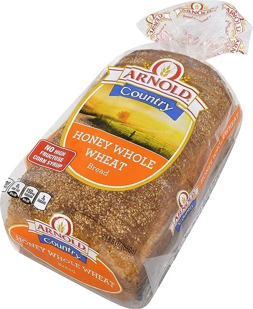 Arnold Whole Grain Classics Honey Whole Wheat Bread 24 Oz Amazon Com Grocery Gourmet Food