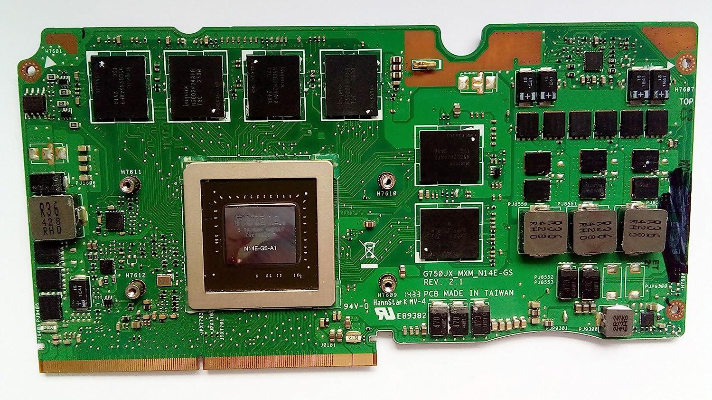 3G Laptop VGA Graphic Card N14E-GS-A1 for Asus ROG G750J G750JX Laptop Compatible GTX 770M 3GB VGA Graphic Video Card N14E-GS-A1 60NB00M0-VG1160 90NB00N1-R60020