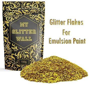Goldener Wandglitzer Fur Dispersionsfarbe 150 G Fur Den Innen Und