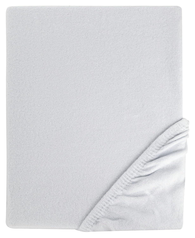 Weiche Spannbettlaken Weiß 120x200 Cm Biber Feinbiber Made