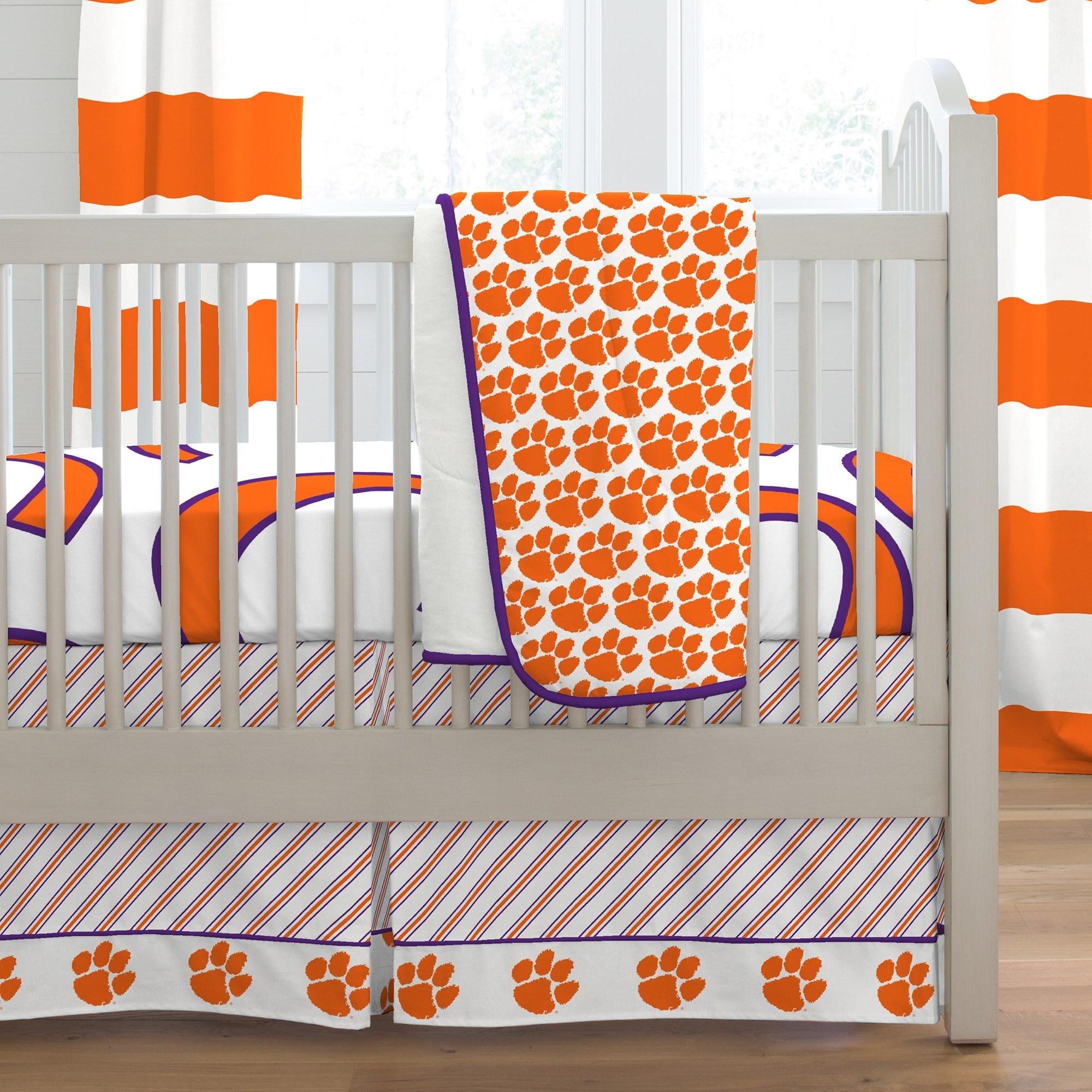 Carousel Designs Clemson Crib Comforter