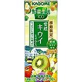 カゴメ 野菜生活100 愛媛キウイミックス 195ml×24本