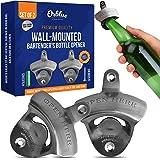 ORBLUE Wall-Mounted Bartender's Bottle Opener, Set of 2