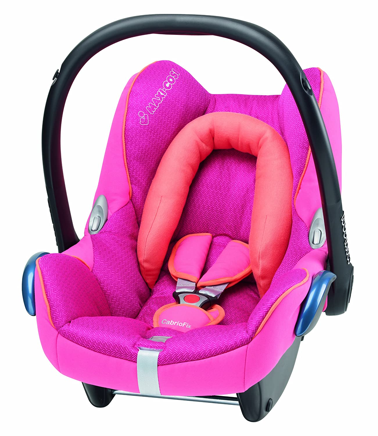 Maxi Cosi Cabriofix Group 0 Infant Carrier Car Seat Spicy Pink Amazoncouk Baby