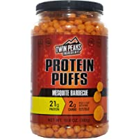 Twin Peaks Low Carb, Allergy Friendly Protein Puffs (300g, 21g Protein, 2g Carbs) (Mesquite Barbecue)