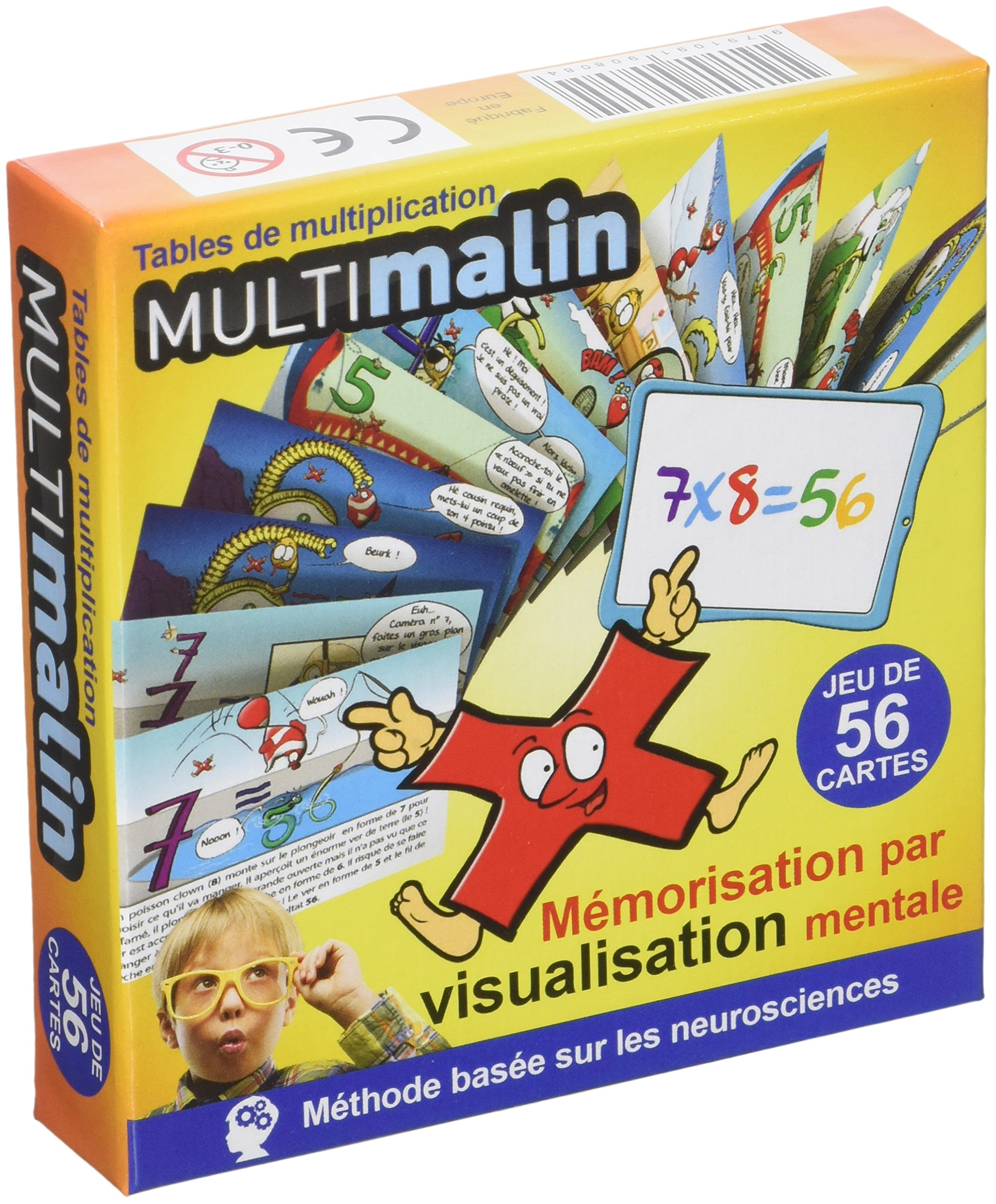 MULTIMALIN : Une méthode efficace mémoriser les tables de multiplication (par images)