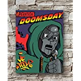 T-988 MF Doom Operation Doomsday 2019 Edition Hip Hop Cover Art Silk Poster