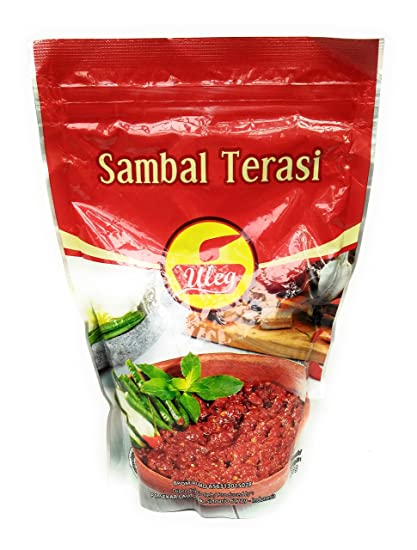 Finna Uleg Sambal Terasi (Salsa de Camarón Chili), 500 gramos