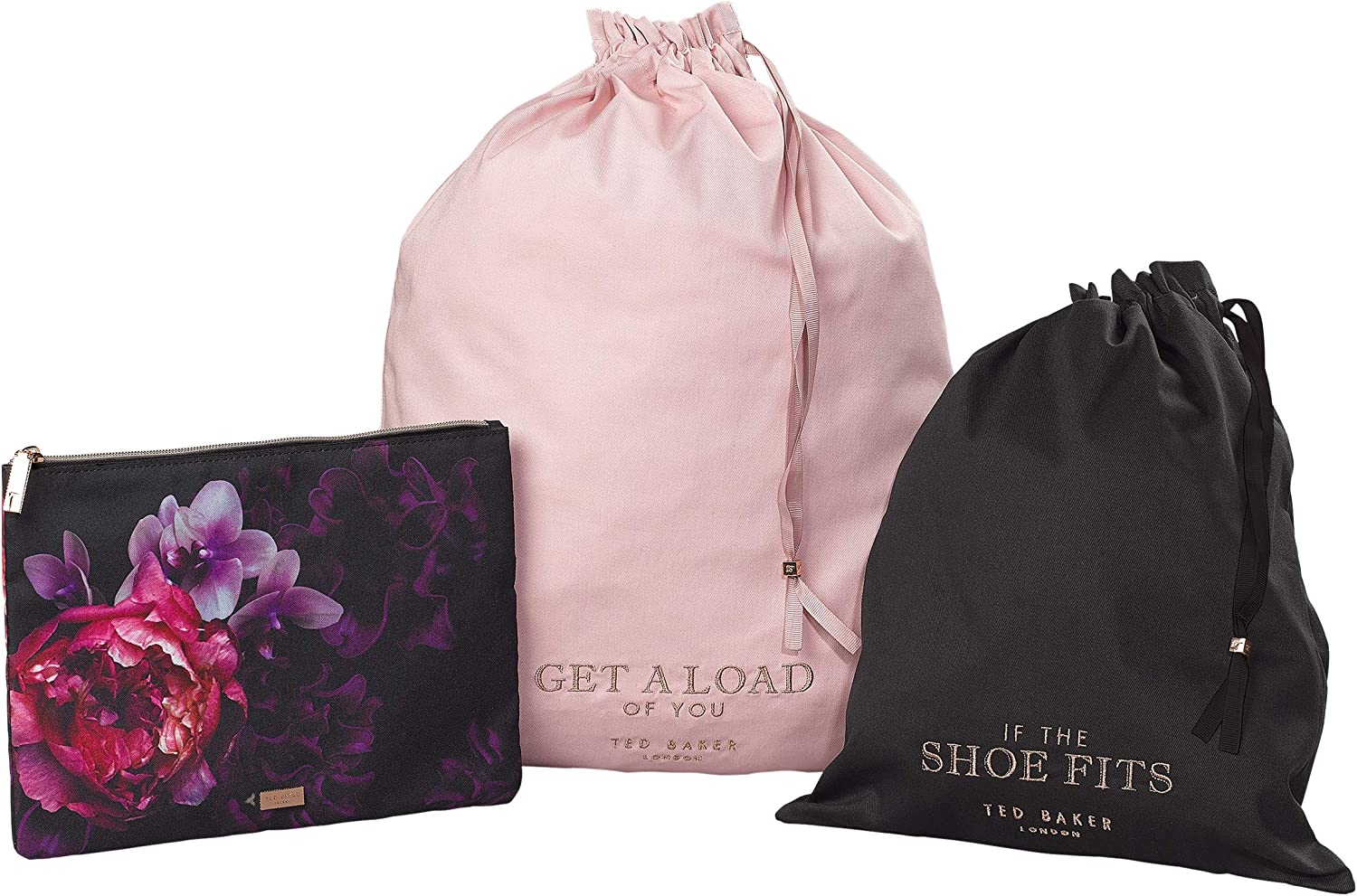 new photos uk store united kingdom Amazon.com | Ted Baker Laundry & Shoe Bag with Zipped Pouch ...
