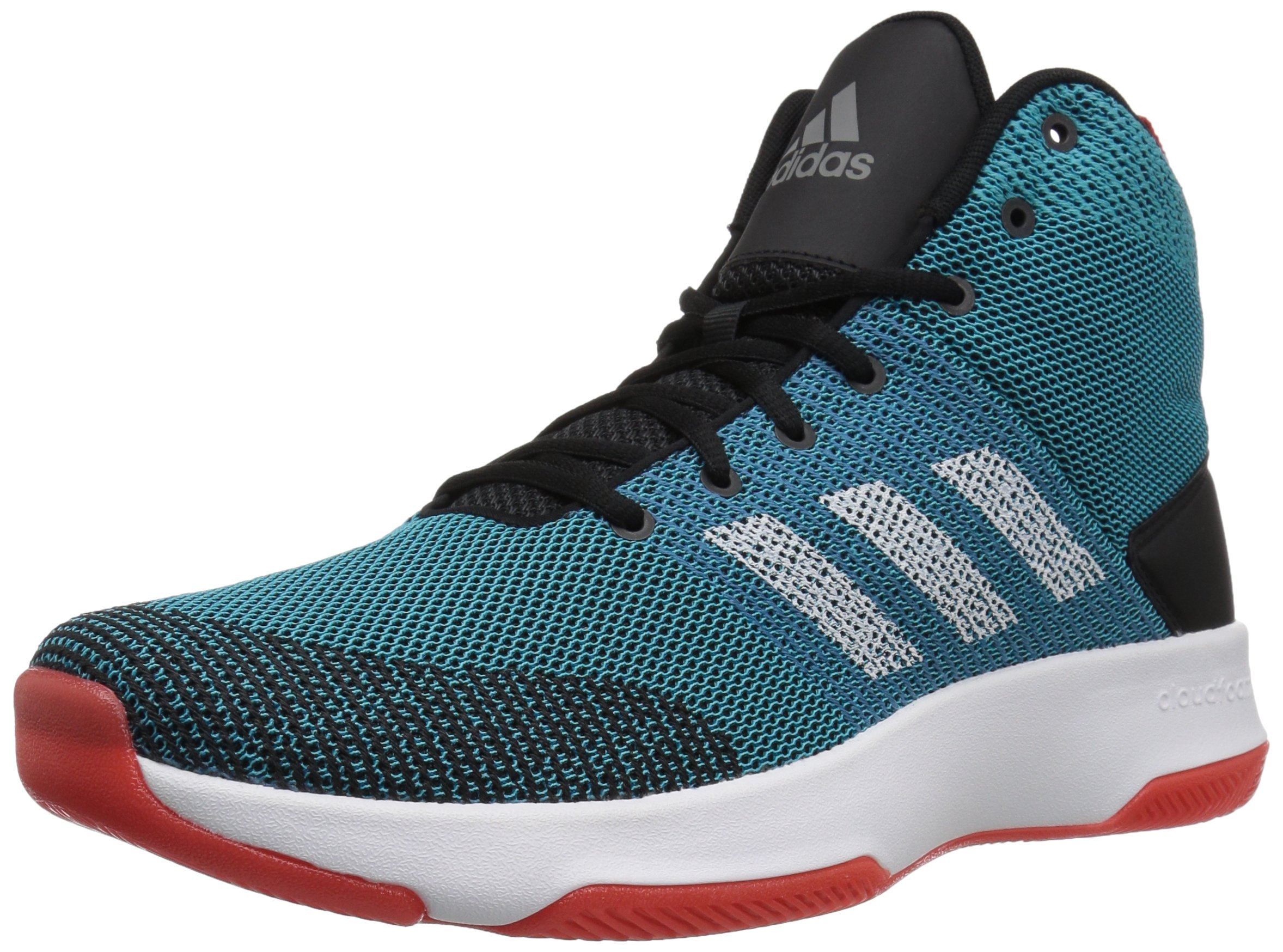 a72cb1a4cc188 adidas Neo Men's CF Executor Mid Basketball-Shoes, Mystery  Petrol/White/Black, 9 Medium US