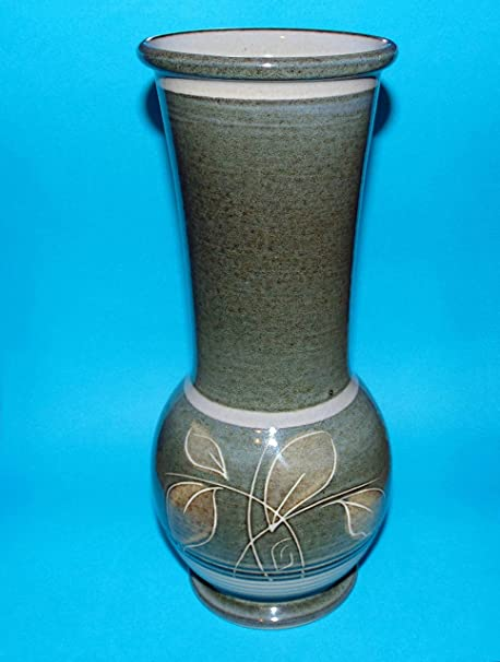 Denby Pottery Ornament Large Vase 95 Amazon Kitchen Home