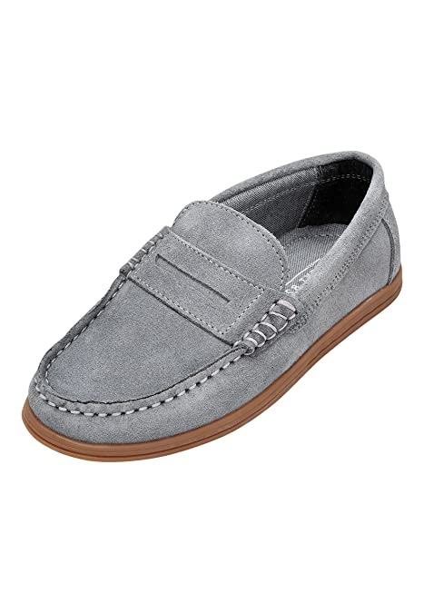 next Niños Mocasines (Niño Mayor) Gris EU 42: Amazon.es: Zapatos y complementos