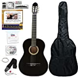 eMedia Essential Guitar Pack, full-size, black