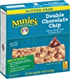 Annie's Gluten Free Chewy Granola Bars, Double Chocolate Chip Bars, .98 oz (5 Count)